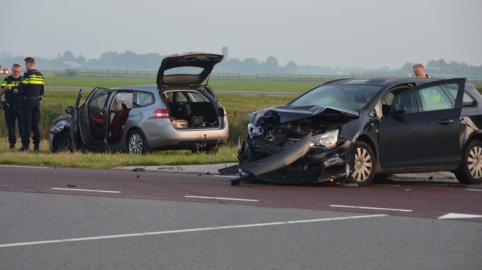 Forse schade bij ongeval Hilaard
