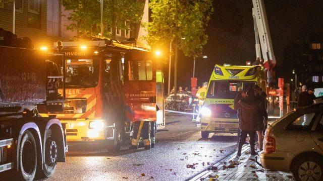 Flat ontruimd na lekkage gevaarlijke stof in Heerenveen