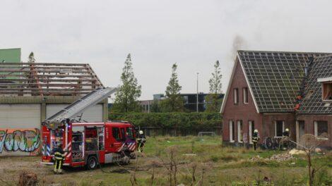 Brand in sloopwoning Stadionplein Leeuwarden