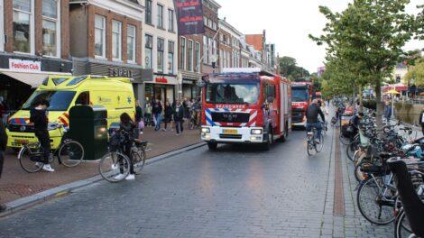 Persoon gewond in kledingwinkel Leeuwarden, mogelijk door elektrocutie