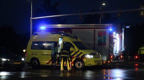 Verkeershinder door ongeval op Drachtsterplein in Leeuwarden